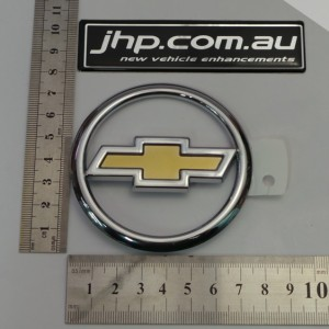 ChromeGold Bonnet Badge