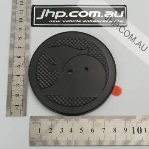 E2 HSV Bonnet Badge Carbon Background