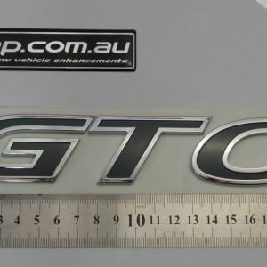 HSV GTO Side Skirt Badge