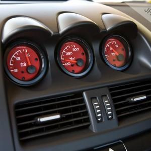 Commodore VE Triple Gauge Trim kit with vdo gauges