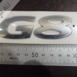 Pontiac G8 Boot Badge