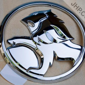 commodore VE Holden Lion Trunk badge Boot Badge